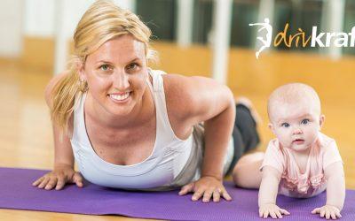 Ny start av mammaträning 22 maj