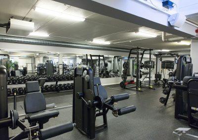 Fullutrustad gymavdelning