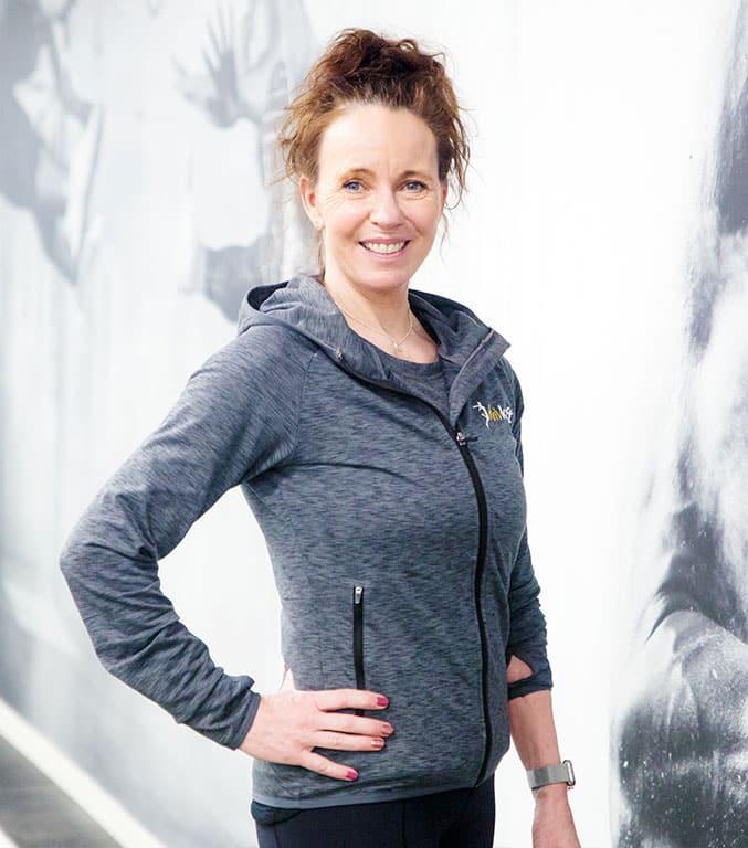 Monica, Personlig tränare på Drivkraft Solna. Din egna PT.